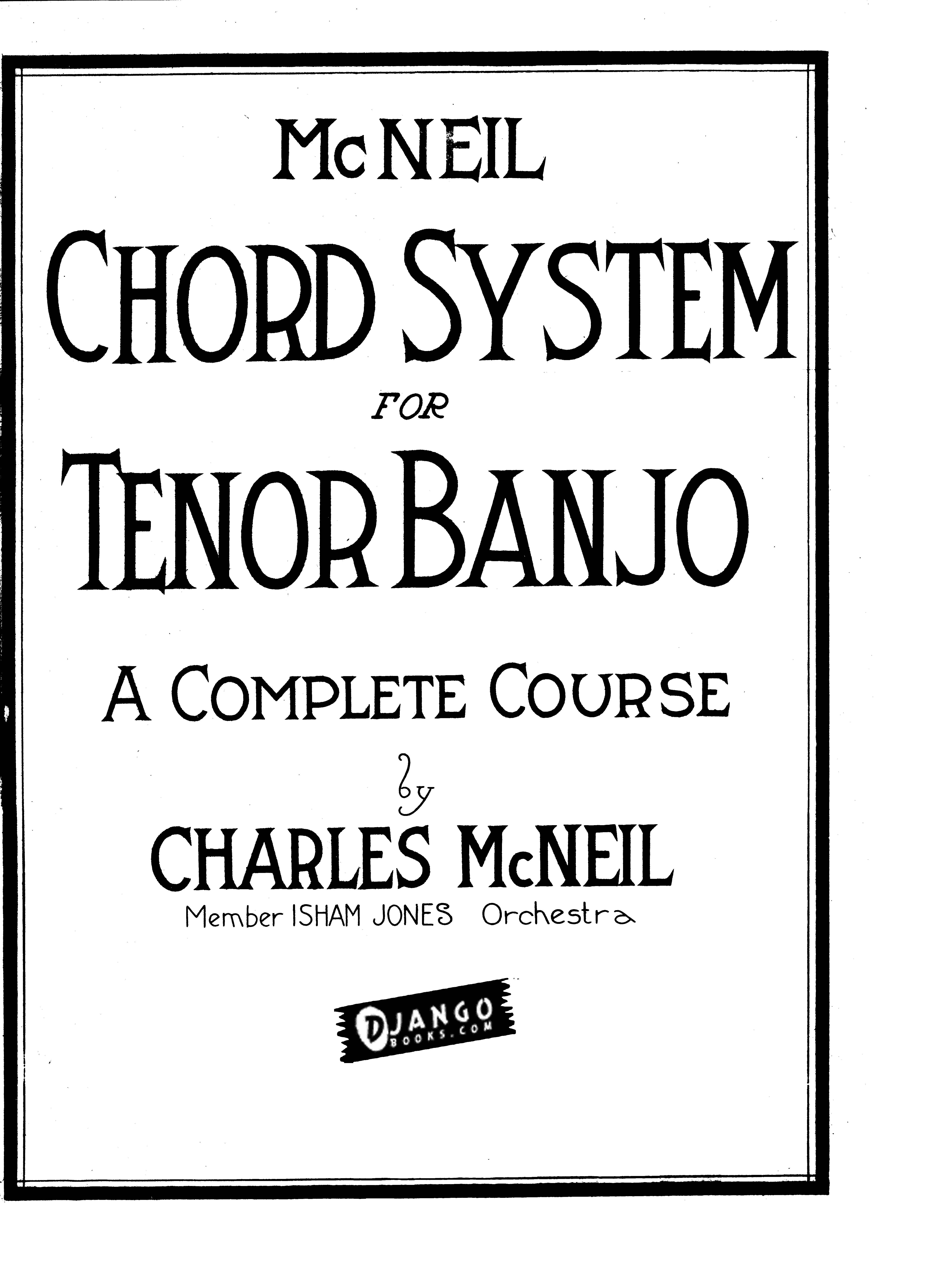 New eBook: McNeil Chord System for Tenor Banjo : Blog