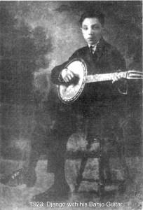 1. Django Banjo caption