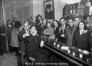 5. 1945 DJANGO BARO BAR OPENING Caption