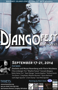 DjangoFestNW @ Whidbey Island Center for the Arts | Langley | Washington | United States
