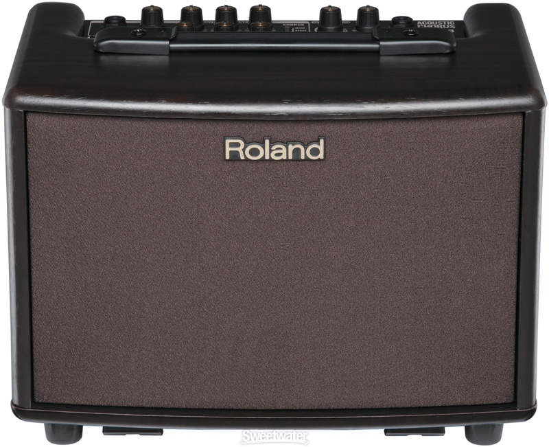 Roland AC 33RW ACOUSTIC AMPLIFIER (Rosewood Cabinet)