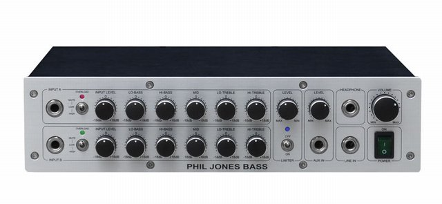 Phil Jones Bass D-600 Digital Amplifier