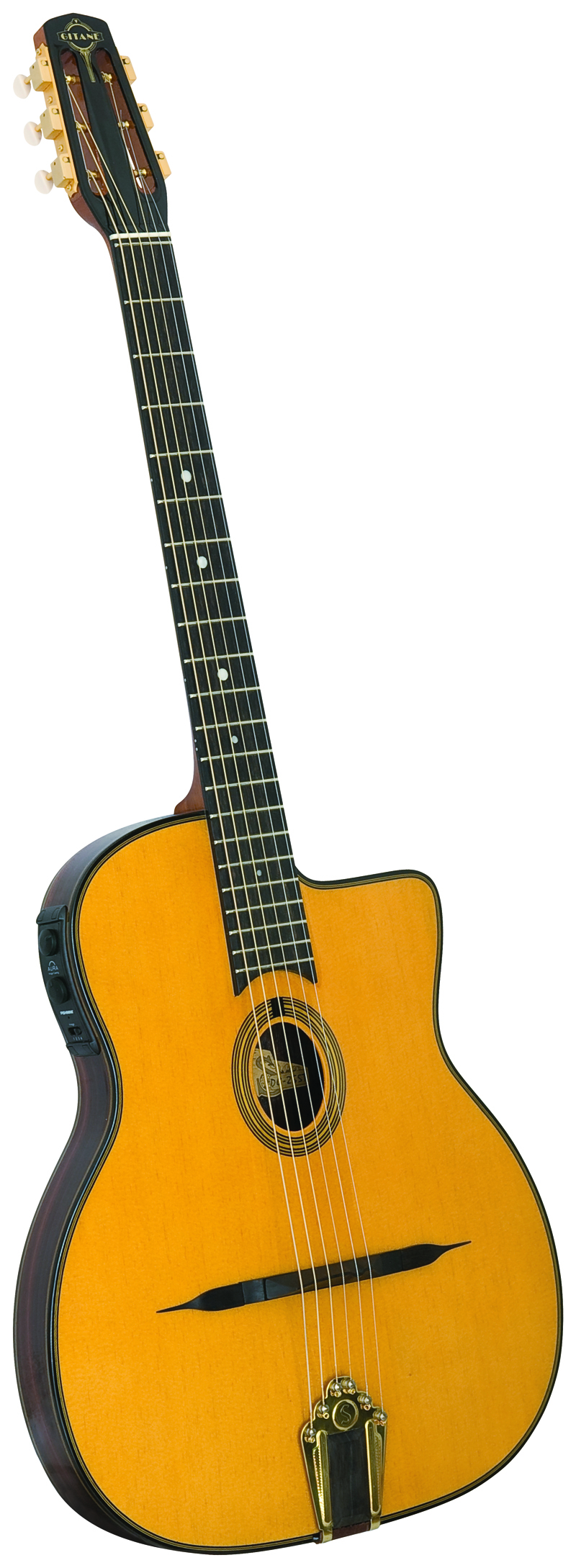 Gitane DG-455 Acoustic/Electric with Case