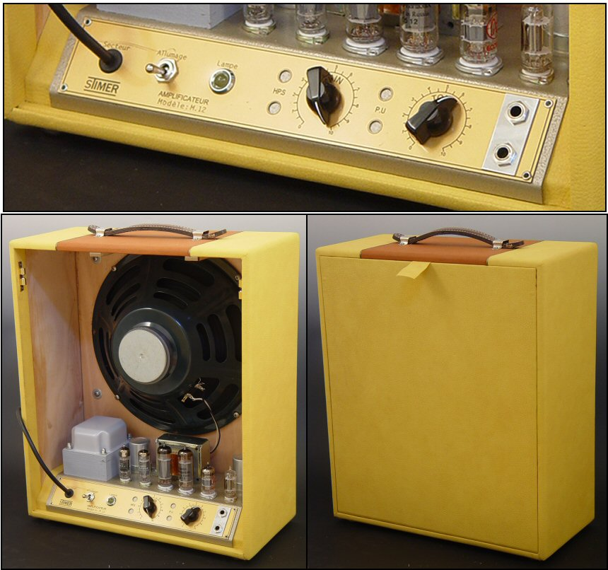 Stimer Modèle M12 Amplifier (made by Maurice Dupont)