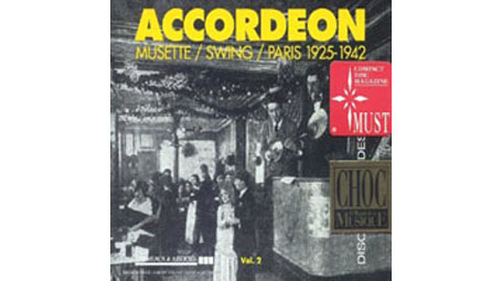 Accordeon Musette / Swing Vol.2  Paris 1925-1942 2CDs