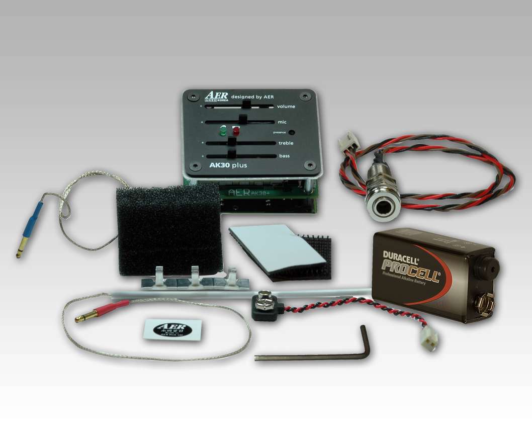 AER AK-30 Plus Pickup System