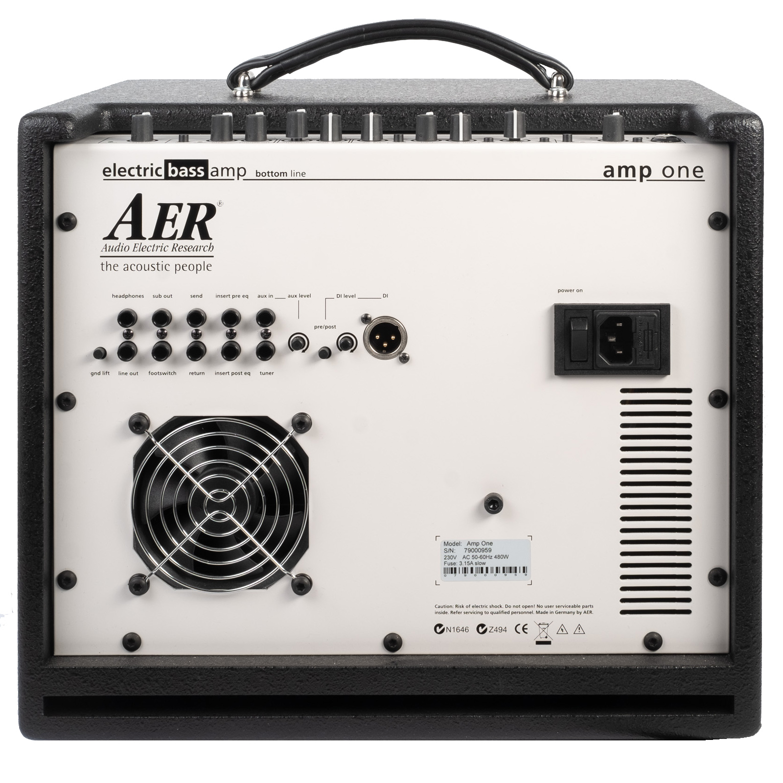AER AMP ONE and GIGBAG