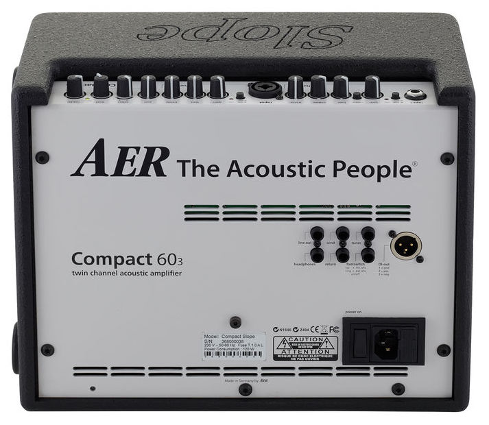 AER Compact 60 Slope Acoustic Amplifier