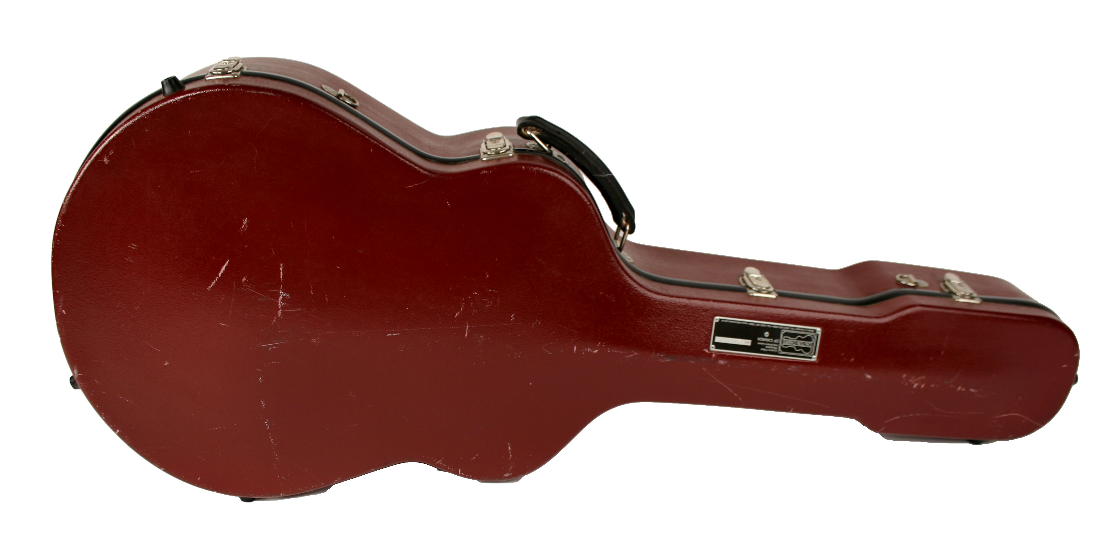 USED Calton Custom Gypsy Jazz Flight Case (Selmer Size- 15 3/4'')