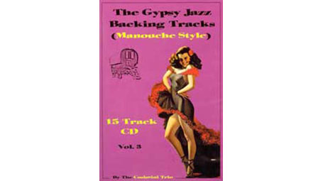 Colin Cosimini Gypsy Jazz Backing Tracks Vol 3