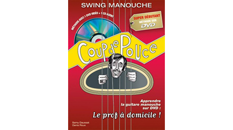 Sammy Daussat and Denis Roux  Super Débutant, Swing Manouche (In French - CD/DVD)