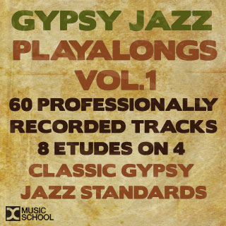 Denis Chang Gypsy Jazz Playalong Series Vol.1 MP3 Download