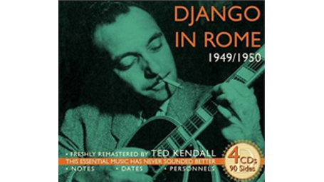 Django Reinhardt - Django in Rome 4 CD set!