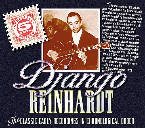 Django Reinhardt - The Classic Early Recordings in Chronological Order 5 CDs