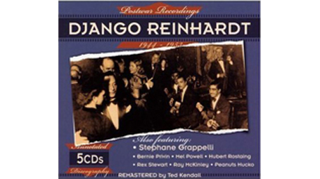 Django Reinhardt - Postwar Recordings 1944-1953 5 CDs