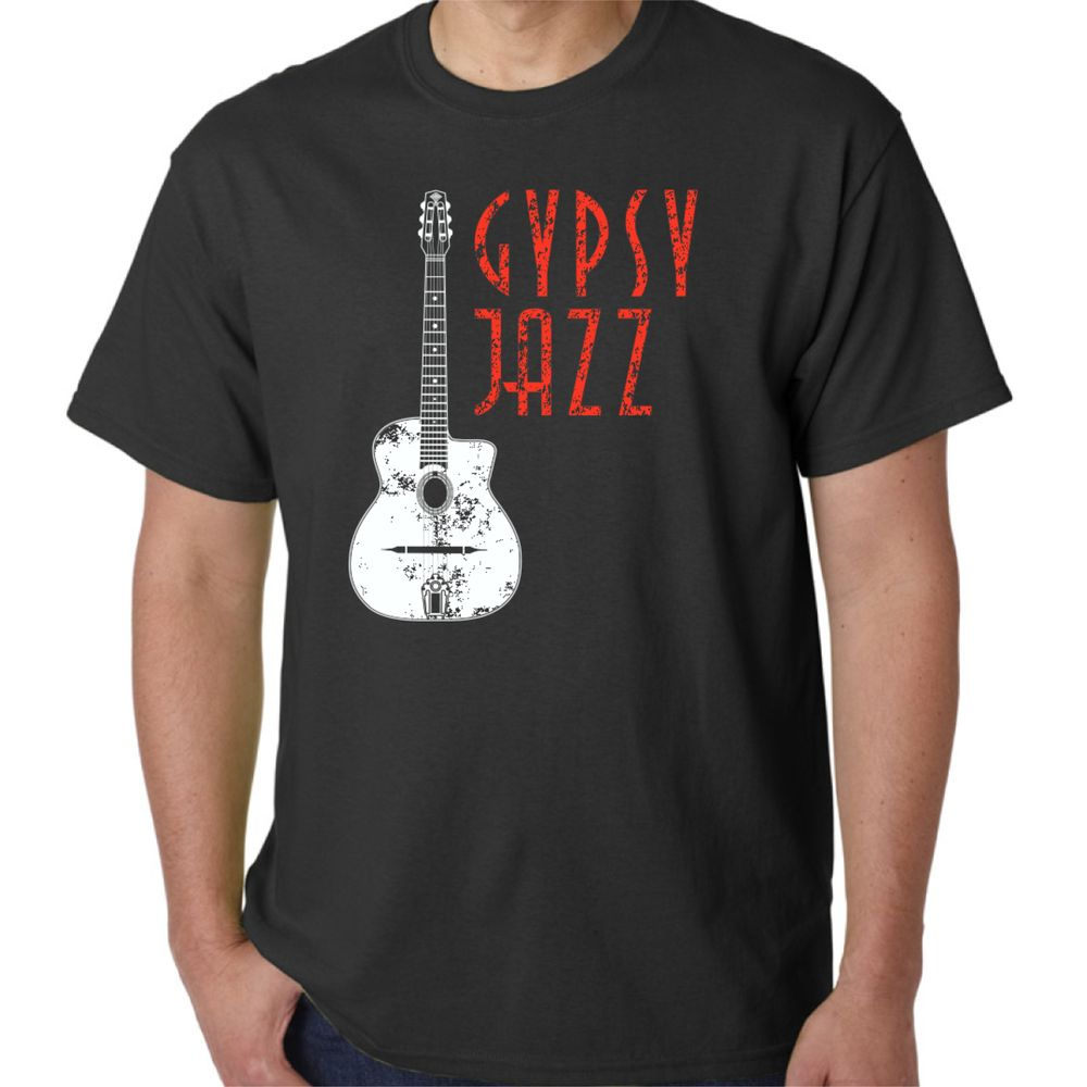 Distressed Selmer and Gypsy Jazz Men's T Shirt