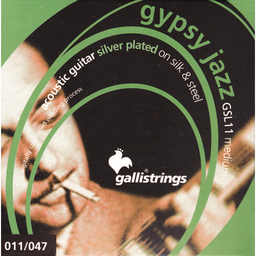 Galli GSL11 Gypsy Strings  (1 Set)