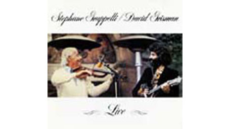 Stephane Grappelli and David Grisman Live