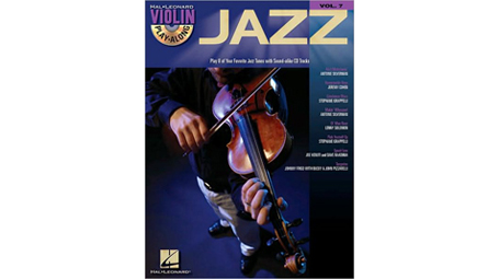 Jazz: Violin Play-Along Volume 7 with CD