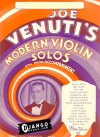eBook: Joe Venuti Modern Violin Solos: Red Velvet