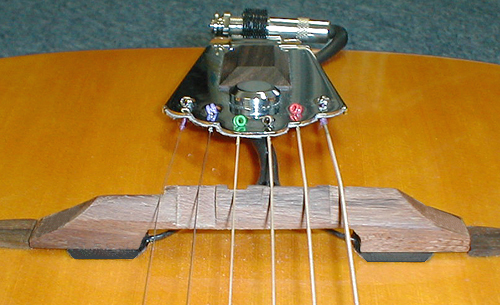 K&K Pure Floating Bridge Pickup