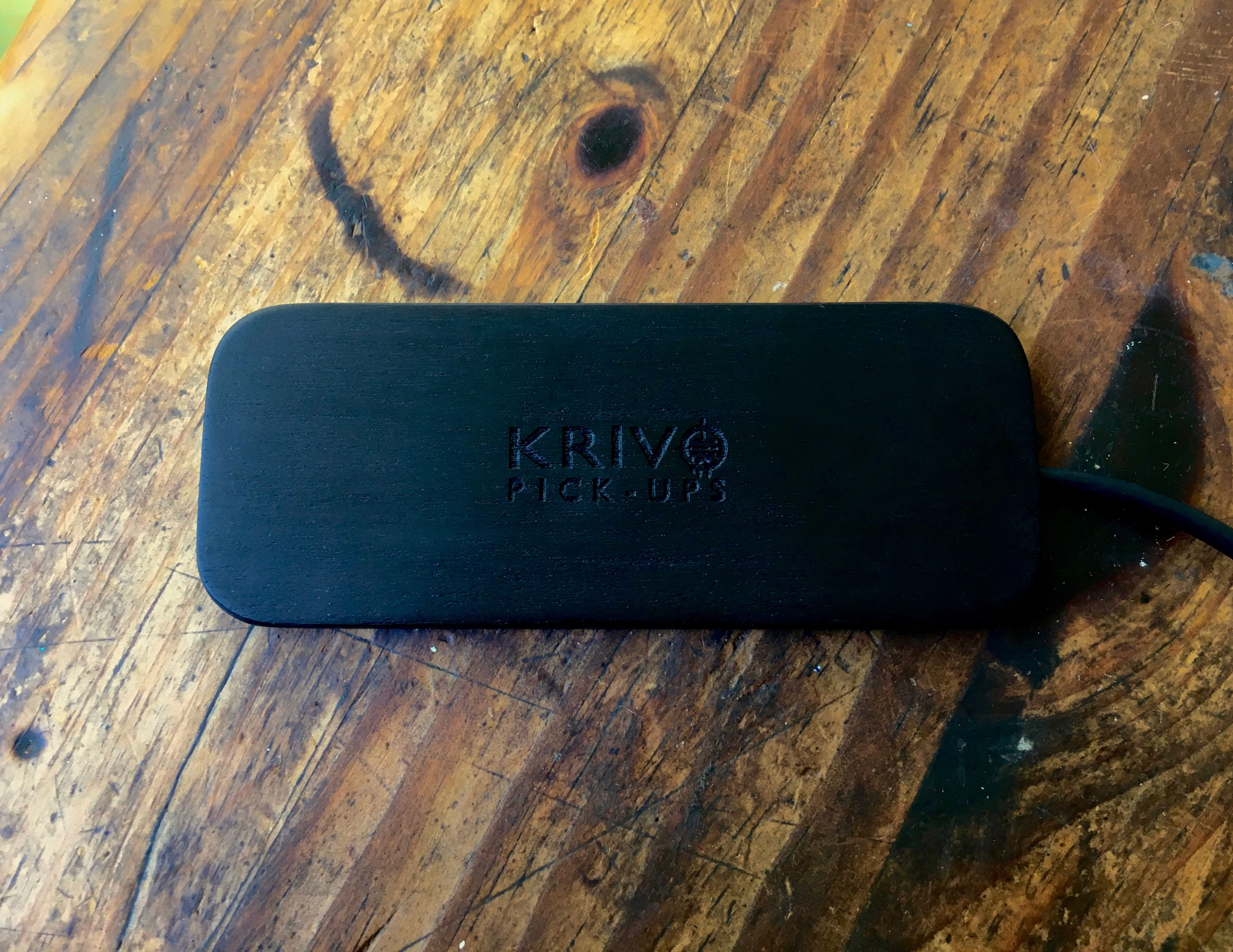 Krivo Nuevo Black Single Coil Gypsy Jazz Guitar Pickup