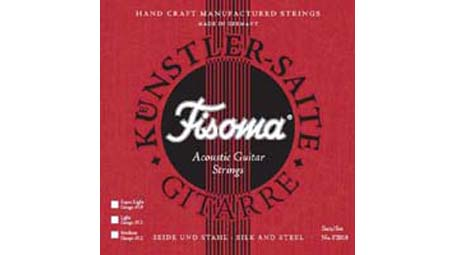 Lenzner Fisoma Silk and Steel Gypsy Jazz Strings - Medium (12-50) F2010 M