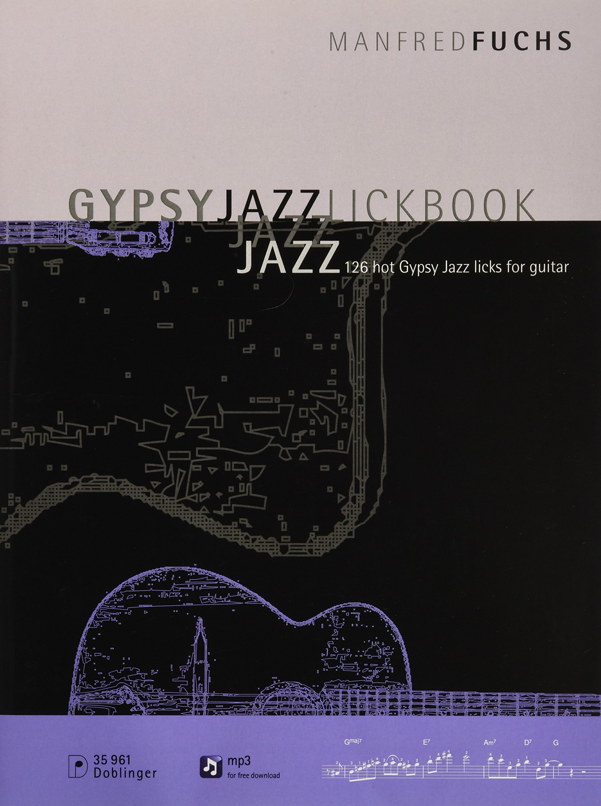Manfred Fuchs - Gypsy Jazz Lick Book