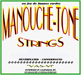 Manouche Tone Strings: Violette (10-44 Loop End)