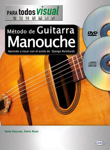 Sammy Daussat and Denis Roux - Metodo de Guitarra Manouche (In Spanish - CD/DVD)