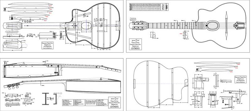 Michael Collins Selmer Guitar Plans