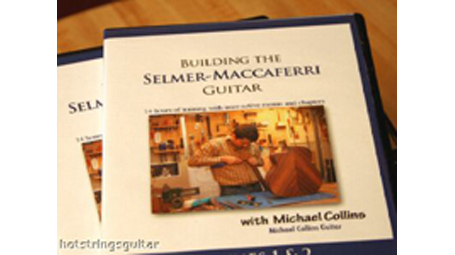 Michael Collins Building the Selmer-Maccaferri guitar 10 DVD Set