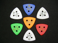 Moustache Triangular Gypsy Jazz Pick (6mm)