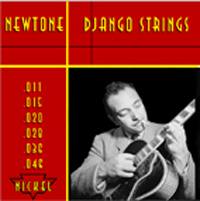 Newtone Django Nickel Strings (1 set): Light