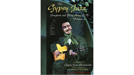 Robin Nolan Gypsy Jazz Songbook and Play Along CD Volume 4