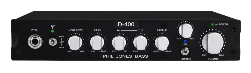 Phil Jones Bass D-400 Digital Amplifier