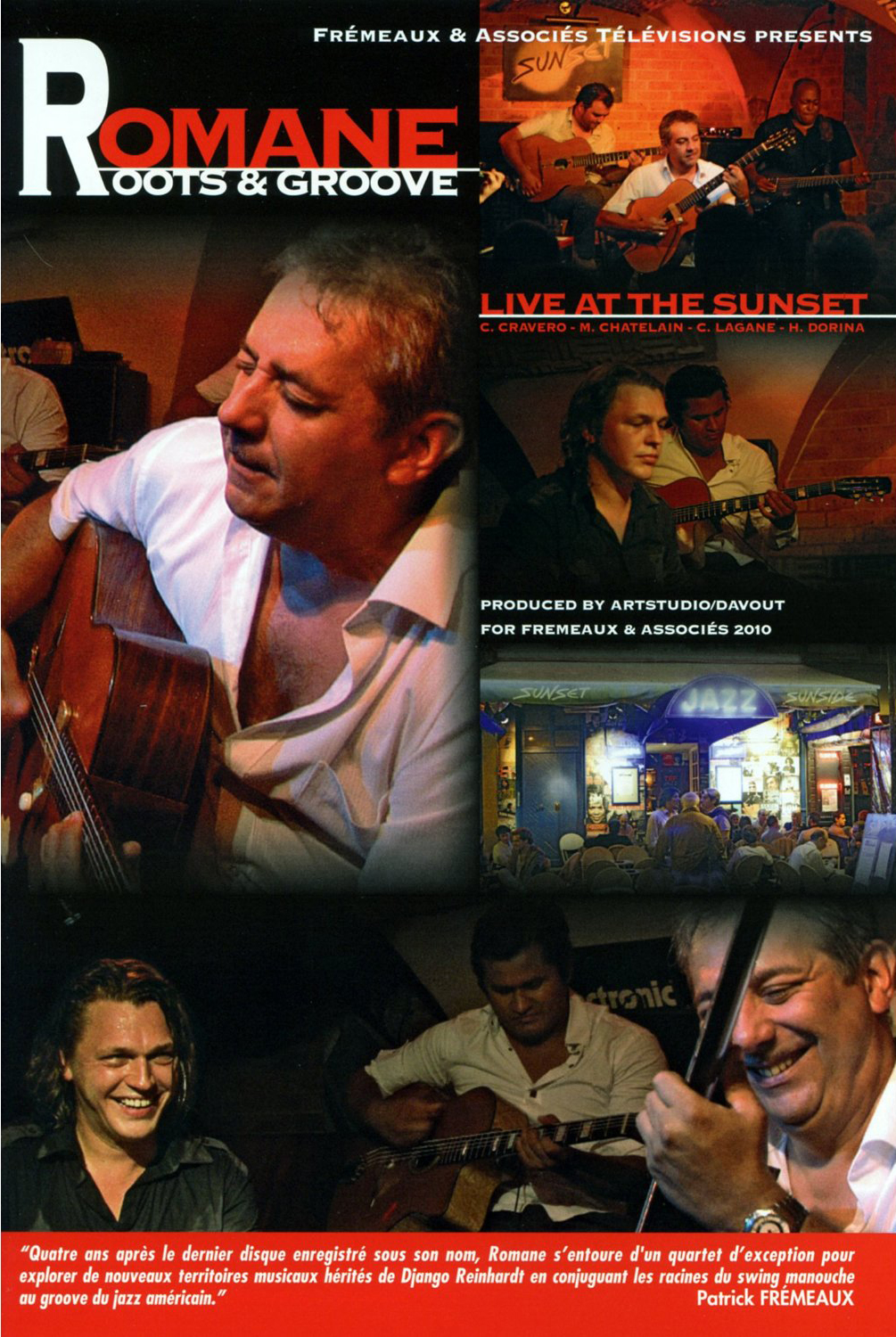 Romane Roots and Groove Live at the Sunset DVD