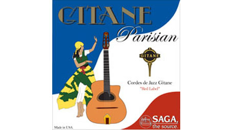 Saga Gitane Parisian Strings ''Red Label'' (1 set): 11 Loop End