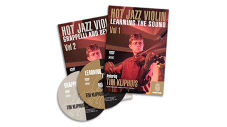 Tim Kliphuis HOT JAZZ VIOLIN TWO DVD SET: VOL.1 AND VOL.2