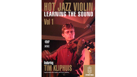 Tim Kliphuis HOT JAZZ VIOLIN VOL.1: LEARNING THE SOUND DVD
