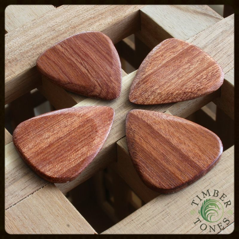 Timber Tones Almond Wood Pack of 4