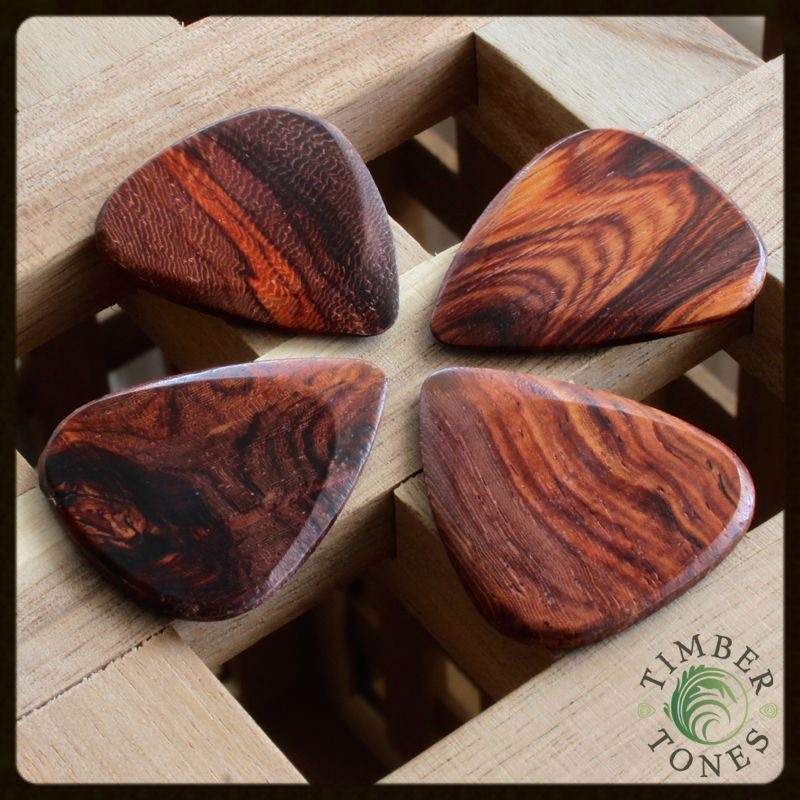 Timber Tones Burma Padauk Pack of 4