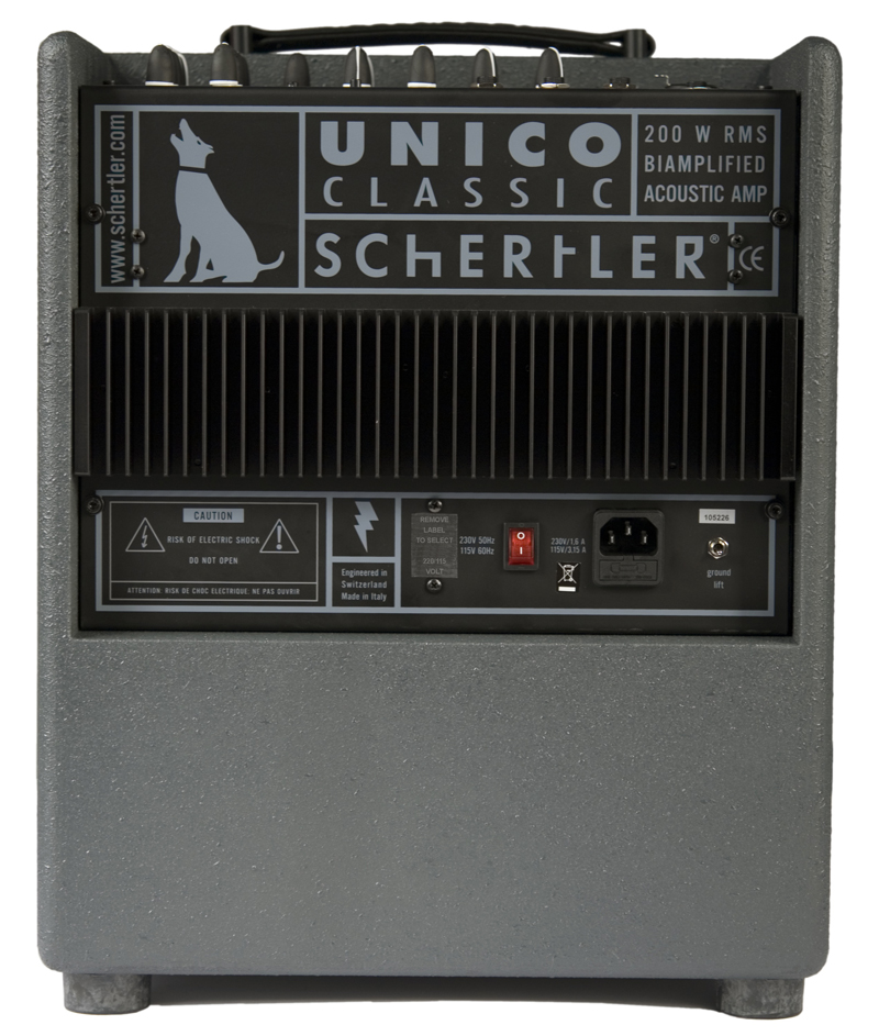 Schertler Unico Classic Acoustic Amplifier