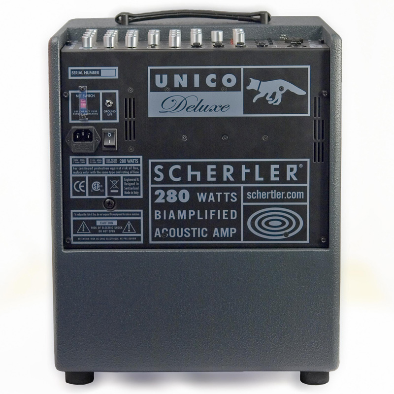 Schertler Unico Deluxe Acoustic Amplifier