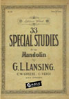 eBook: 33 Special Studies for the Mandolin