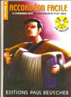 Accordeon Facile Volume 4 15 Accordion Standards with Play-Along CD