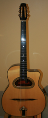ALD GRANDE BOUCHE 14 FRET GUITAR WITH HISCOX HARDSHELL CASE ***SOLD!!!***