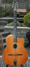 Busato Grand Modèle DELUXE 14 Fret Oval Hole Guitar with Case ***SOLD!!!***