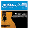 D'Addario Gypsy Jazz Strings Light (10-44) EJ84L Loop Ends