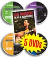 Denis Chang 5 DVD set Jazz Manouche: Technique & Improvisation 4 Volume Set and The Art of Accomp